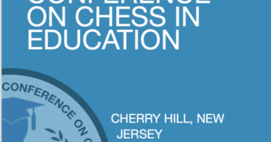 3rd Koltanowski Chess in Education conference